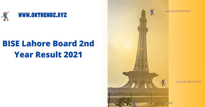 BISE Lahore Board 2nd Year Result 2021 | FA, FSC, ICS, ICOM