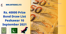 Peshawar Prize Bond Draw List