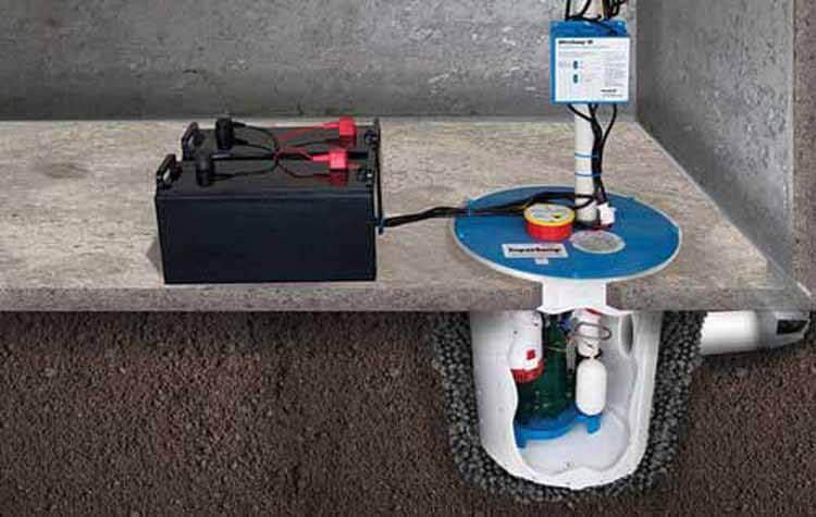 The best sump pump battery