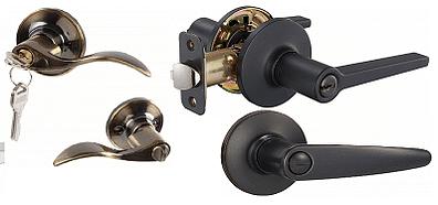 different type of door lever
