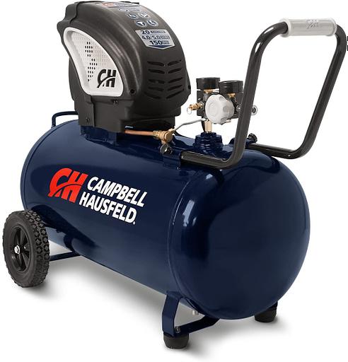Campbell Hausfeld Horizontal Air Compressor for Garage Review