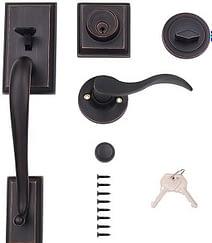 A good quality door handleset