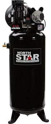NorthStar Electric Air Compressor - 3.7 HP, 60-Gallon Vertical Tank