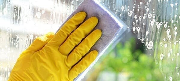 Cleaning Glass Image