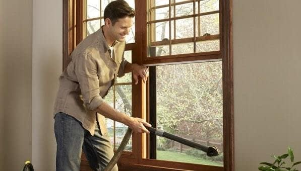 Clean Window Screens Without Removing Them