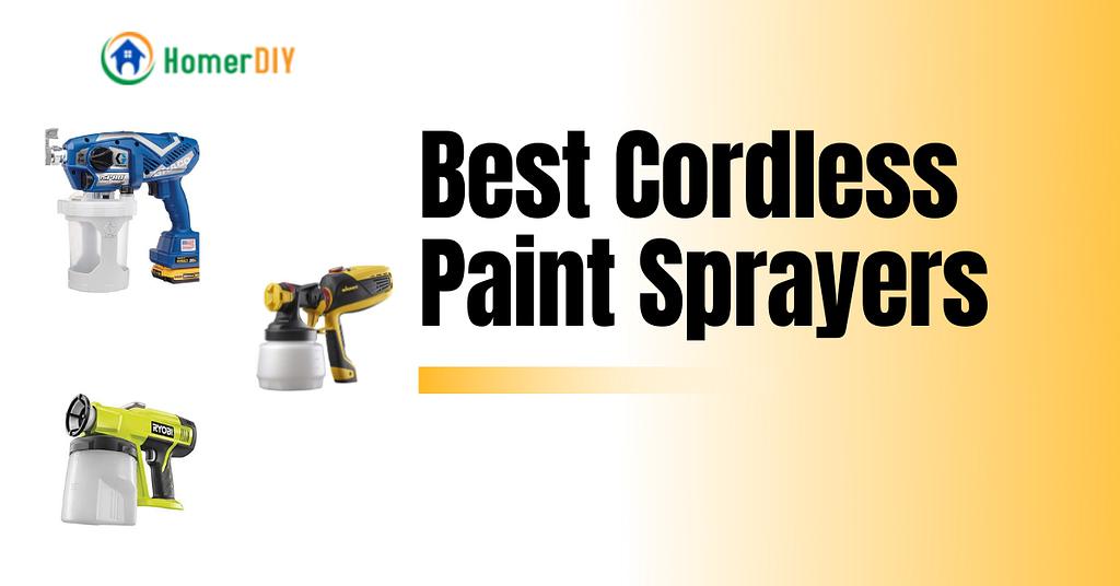 Best Cordless Paint Sprayers