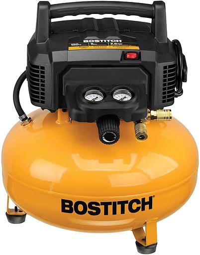BOSTITCH BTFP02012 Pancake Air Compressor, Oil-Free