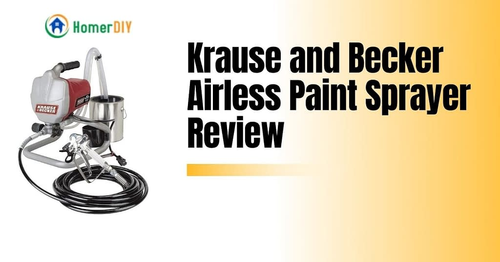 Krause and Becker Airless Paint Sprayer Review