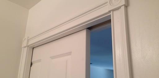trim molding pocket door
