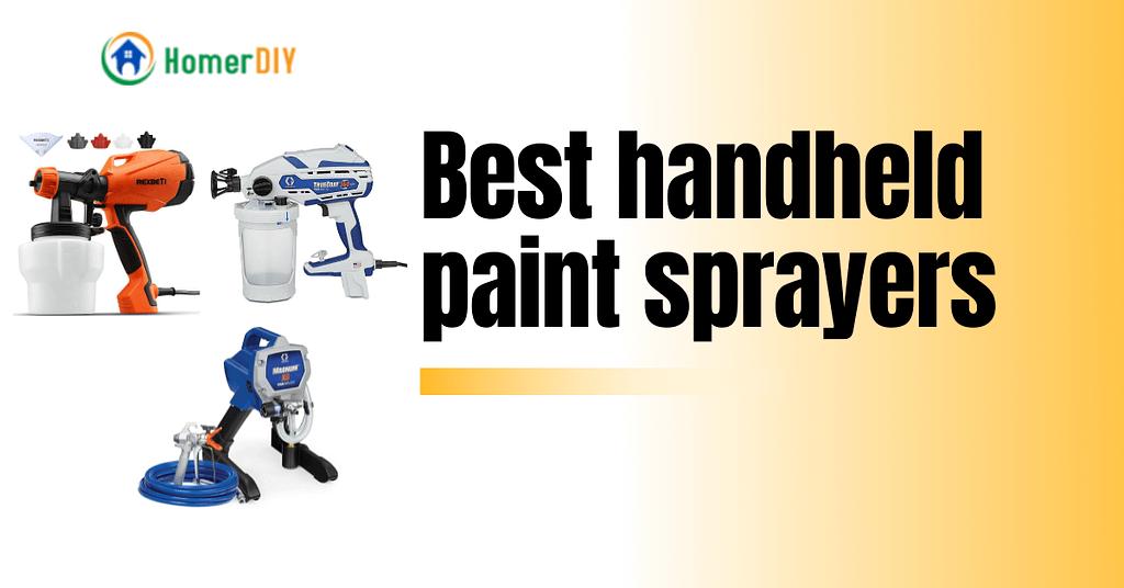 Best handheld paint sprayers