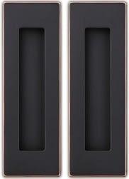 Sehrgut Flush Pull Handle for Sliding Pocket Door or Cabinet