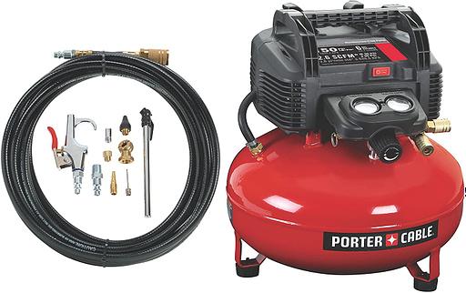 Porter-Cable C2002-Wk Oil-Free UMC Pancake Compressor Review