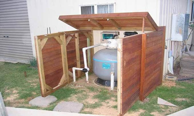 Pool Pump House