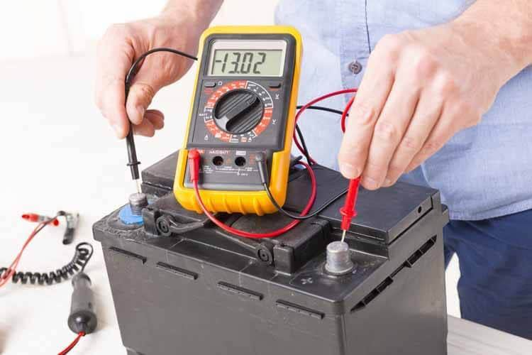 Checking the Battery Voltage