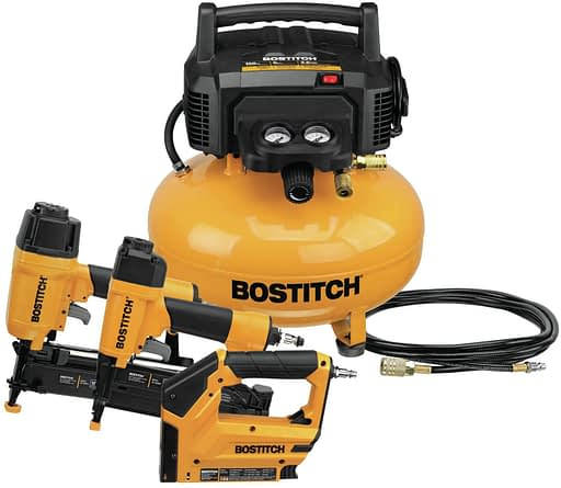 BOSTITCH BTFP3KIT Air Compressor Combo Kit with 3-Tool